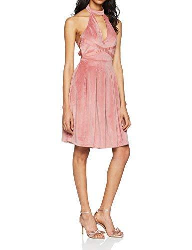 Chi Chi London Annika Vestido de Fiesta, Rosa (Pink PI), 38 para Mujer