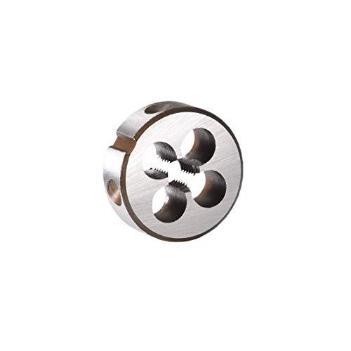 uxcell M5 X 0.8 Metric Round Die, Machine Thread Left Hand Threading Die, Alloy Steel