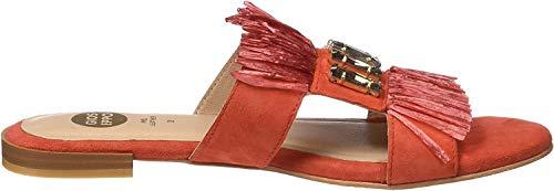 Gioseppo 45354, Sandalias con Plataforma Mujer, Rojo (Coral), 38 EU