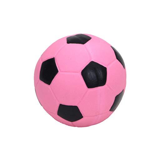"Coastal Pet Rascals 3"" Latex Soccer Ball Dog Toy, Pink (1-Unit)"