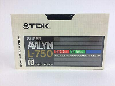 Cheapest Price! TDK Super AVILYN L-250 BETA Video Cassette