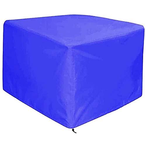 FUSHOU-Funda Muebles Jardin Impermeable, cubierta para muebles de patio, juegos de mesa y sillas para exteriores, lona protectora, protección solar impermeable para exteriores, 2 colores,Azul