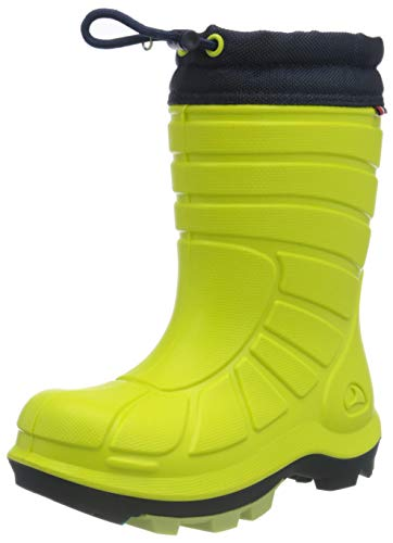 viking Unisex-Kinder Extreme 2.0 Schneestiefel Schnee Schneestiefel, Lime/Navy, 32 EU