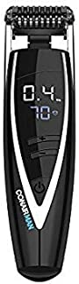 [Conair] [MAN Super Stubble Ultimate Flexhead Trimmer; Razor-Sharp Etched Blade Technology with Pivoting Flex Head; 15 Dig...