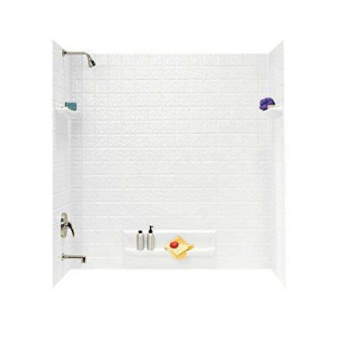 Swanstone TI50000.010 Veritek Glue-Up 5-Panel Bathtub Wall...
