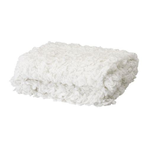 Ikea Ofelia -Decke weiß - 130x170 cm