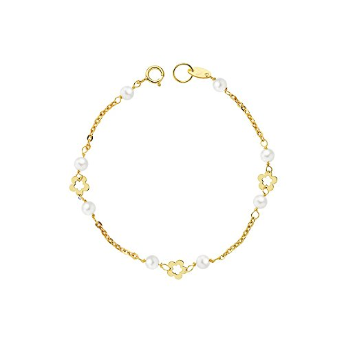 Monde Petit G1213PU - Bracciale per bambini, oro giallo 18k (750)