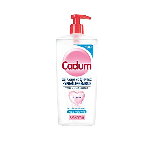 CADUM - Gel Douche Hypoallergénique 750Ml - Lot De 3