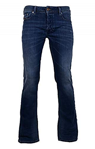 Diesel Herren Straight Jeans Zatiny, Blau (Denim 01), Gr. W30/L30