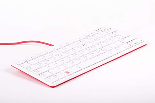 Raspberry Pi Tastatur Weiss