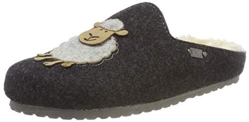Supersoft Damen 522 298 Pantoffeln, Grau (Dk. Grey 254), 40 EU