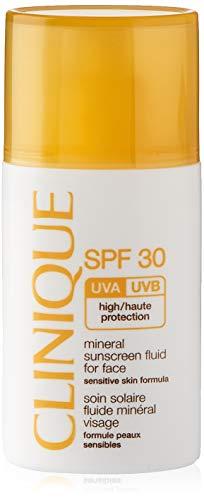 Clinique Mineral Sunscreen Fluid for Face SPF 30 Sensitive Skin, 1 Ounce