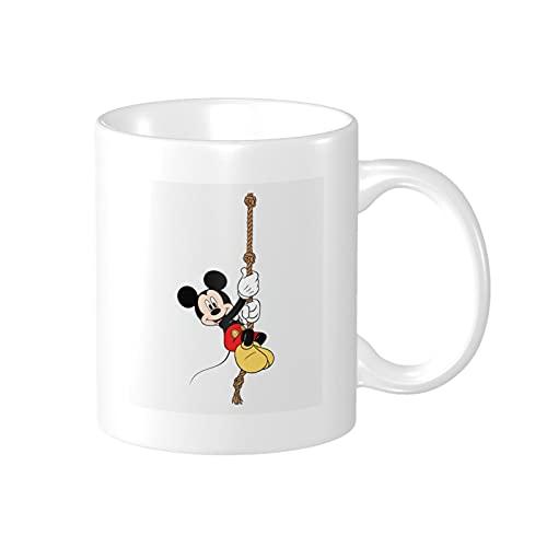 Taza de café de Mickey Mouse Minnie divertido regalo de cumpleaños número 30 para mujeres y hombres taza divertida presente