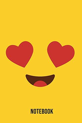 Notebook: Lustful Emoji Emoticons Notebook,: Emoticons Notebook For Kids, social media emoticons Journal, Emoticon Face Themed Birthday, Emoji ... Emoji Stuff, 120 Pages, 6x9, Matte Cover.