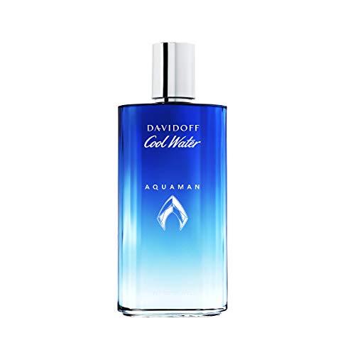 DAVIDOFF Cool Water Man Collector's Edition Aquaman Eau de Toilette, frisch-aromatischer Herrenduft, Spray, 125 ml