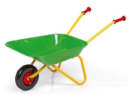 rolly toys Brouette Metal Verte Enfant 80x38x41 cm - 10 l/50 kg