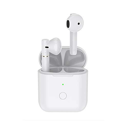QCY T8 Cuffie Bluetooth, Auricolari Bluetooth 5.0 Senza Fili Mini Cuffie Wireless, Smart Controllo Touch, Bassi Potenziati, Microfoni Integrati, Porta di Tipo C per iOS Android e Altri Smartphone…