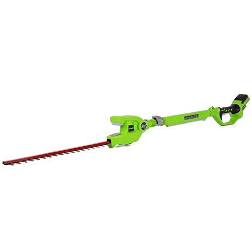 Greenworks Tools 2200207 24V telescopische heggenschaar Alleen gereedschap (zonder accu en oplader). 2200207