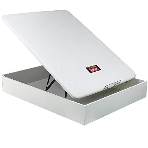 Canapé Abatible Pikolin NaturBox - Blanco, 135x190cm