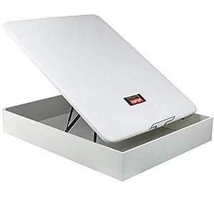 Canapé Abatible Pikolin NaturBox - Blanco, 120x190cm