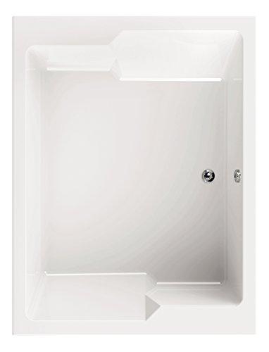 'aquaSu® Acryl - Badewanne basinO I 190 x 145 cm I Weiß I Wanne I Badewanne I Bad I Badezimmer