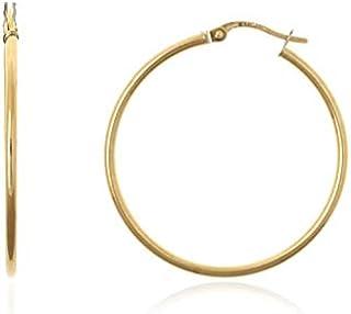 comprar baratas 8cb51 c4932 Amazon.es: Argollas De Oro - Oro amarillo: Joyería