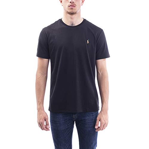 Ralph Lauren T-Shirt IN Interlock Slim-FIT, Herren, Taglia L.