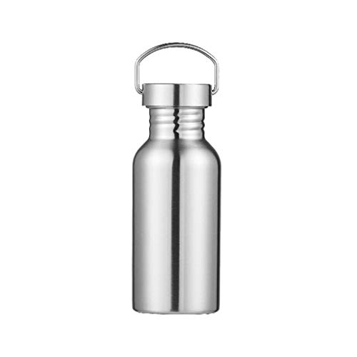 Best Deals! Toxz 500Ml Sports Cup 304 Stainless Steel American Sports Pot Outdoor Creative Sports Bo...