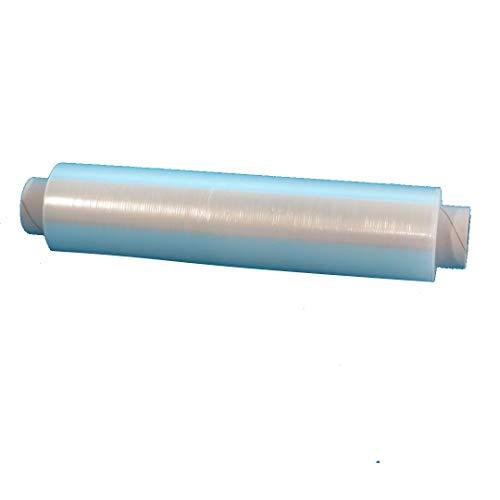 4 Rollen Frischhaltefolie Klarsichtfolie PE 30x30cm Abschnitte Abrisse vorperforiert 500m auf Rolle