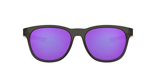 Oakley Stringer 931505 55 Occhiali da Sole, Grigio (Grey Smoke/Violetiridium), Uomo
