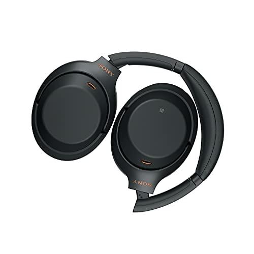 Sony WH-1000XM3 Casque sans fil Bluetooth à réduction de bruit (batterie 30h, capteur tactile, application Headphones Connect, fonction de charge rapide, Amazon Alexa, sans fil) Noir