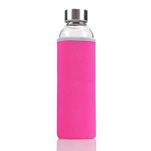 Botella de agua deportiva para bicicleta, 550 ml