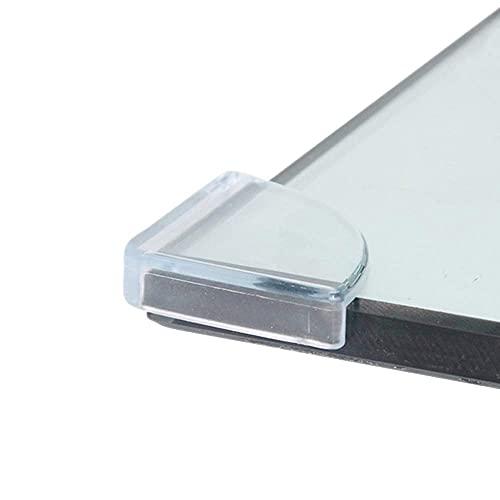 LINVINC Transparent Protection D'angle - Protection Coin de Meubles - Protecteurs D angles pour Sécurité Bébé - Coin de Table pour Enfants, transparent, 8PCS