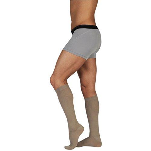 Juzo 3522 Dynamic Socks For Men-Size IV-Black by Juzo
