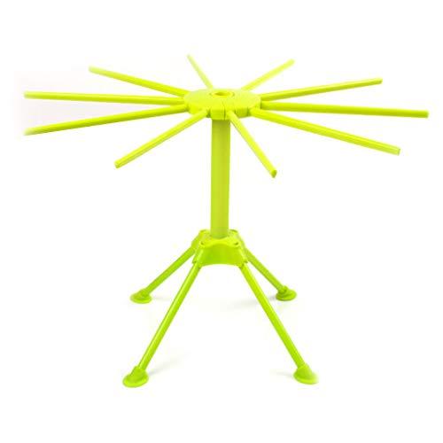 Chowcencen Kunststoff Spaghetti Pasta Trockengestell 10 Noodle Arme Rackwagen Nudeln Trocknen Hängen Halter-Küche-Zubehör-Werkzeug