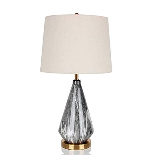 Zanzan lamparas de Escritorio Nordic Moderno Minimalista Lámpara de Mesa de cerámica Dormitorio Estudio Sala de Estar B&B Hotel Lámpara de Mesa Decorativa Iluminación
