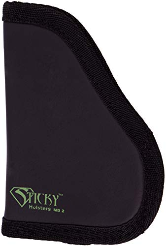 """Sticky Holsters MD-2 Medium - Designed To Fit for Small 9MM's With Laser & Wider Guns Up to a 3.3"""" Barrel,For Both Right And Left Handed Users"""