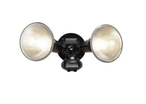Cooper Lighting MS34 110 Degree Motion Detector Floodlight, Black by Cooper Lighting
