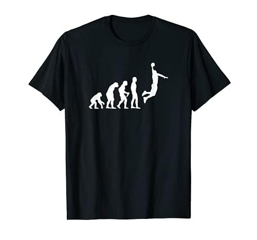 Basketball Evolution T-Shirt Dunking