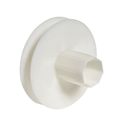 WOLFPACK LINEA PROFESIONAL 5250145 Disco Persiana Plastico Compacto para Rodamieto, Para cintas de hasta 18 mm, 120x40 mm