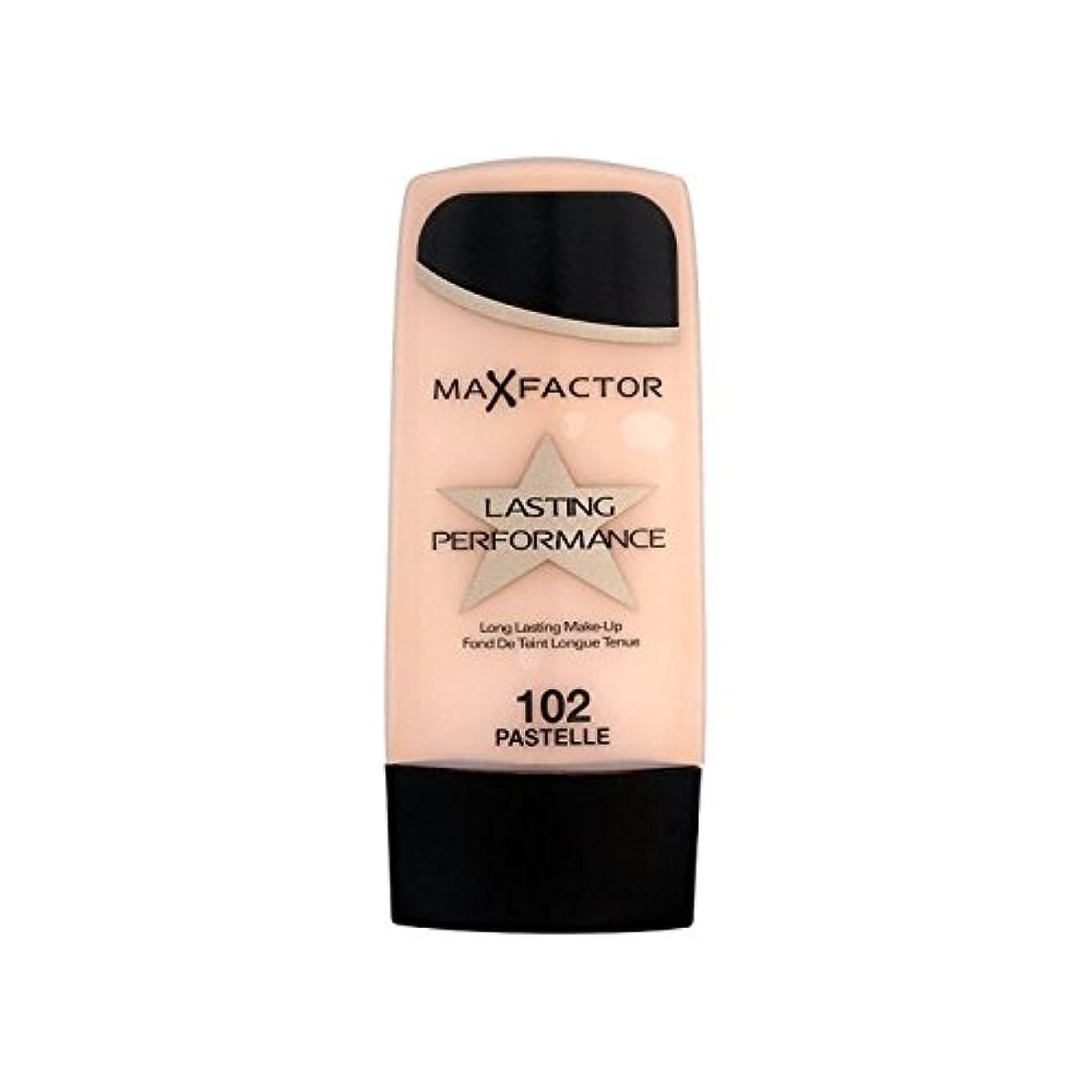 謝る代数的意気揚々Max Factor Lasting Performance Foundation Pastelle 102 (Pack of 6) - マックスファクター持続パフォーマンスの基礎 102 x6 [並行輸入品]