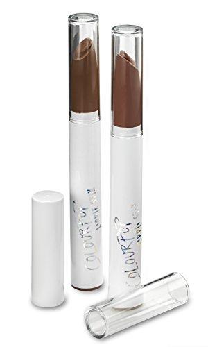 byAlegory Klare Lippenstiftkappen für COLOURPOP - LIPPIE STIX - Ersetzt die Originalkappe, um Ihre Lieblingslippenstiftfarbe leicht zu erkennen (12 Kappen)