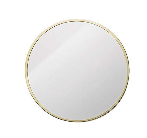 QSJZ Miroir de Salle de Bain, Lavabo Rond - Wandbild - Miroir de Maquillage