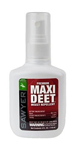 Sawyer Products SP714 Premium Maxi DEET, 100% DEET Insect Repellent, Pump Spray, 4-Ounce