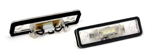Devil Eyes 610784 LED kentekenplaatverlichting voor Astra F/Astra G/Corsa B/Omega A/Omega B/Vectra A/Vectra B/Zafira A E-getest en registratievrij
