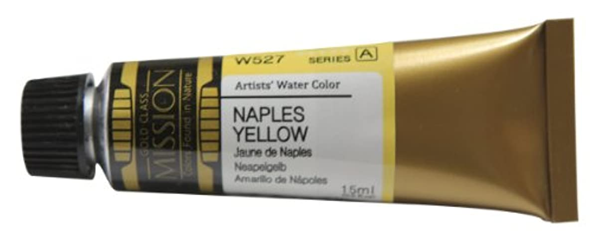 Mission Gold Water Color, 15ml, Naples Yellow