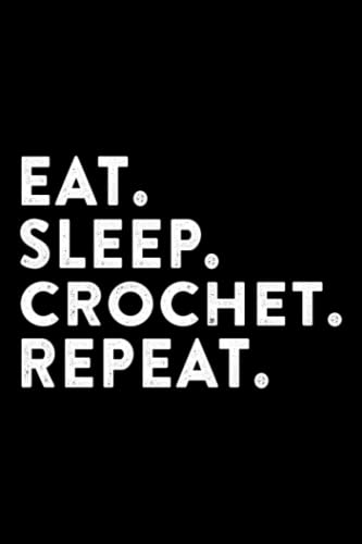 Architecture Project Book - Womens Colored Saying, Eat Sleep Crochet Repeat Nice Pretty: Daily Writing Notebook Log for Architects - Architecture ... a Track Of all Your Projects,Personalized