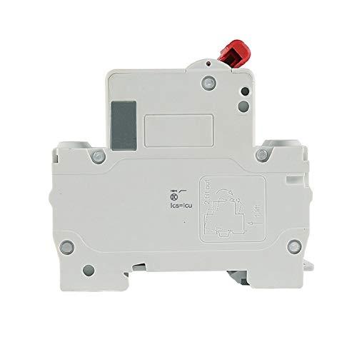 Dz47Sz Disyuntor De Cc Pequeño Dc 500V 2P Interruptor De Aire Batería Solar Fotovoltaica Mcb