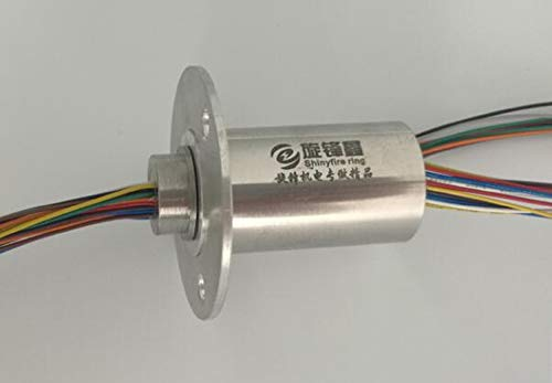 Why Should You Buy Part & Accessories Out Dia. 25mm Stainless Steel Metal Slip Ring 240V DC/AC 5A La...