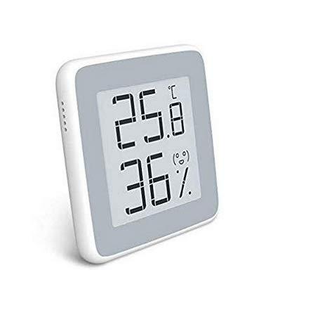 Homidy Thermo-Hygrometer, Luftfeuchtigkeitsmessgerät Innen Digitales Thermometer mit E-Ink Display Hygrometer Innen,Hohe genauigkeit,Geeignet für Babyraum,Büro Usw